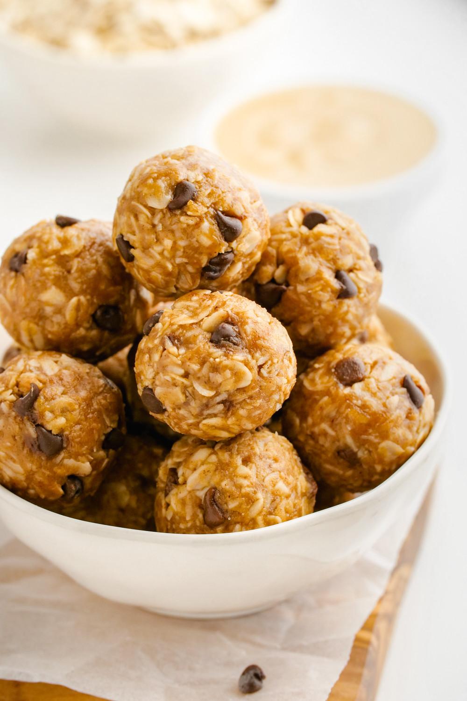 Vegan Protein Balls  Peanut Butter Protein Balls gluten free vegan options