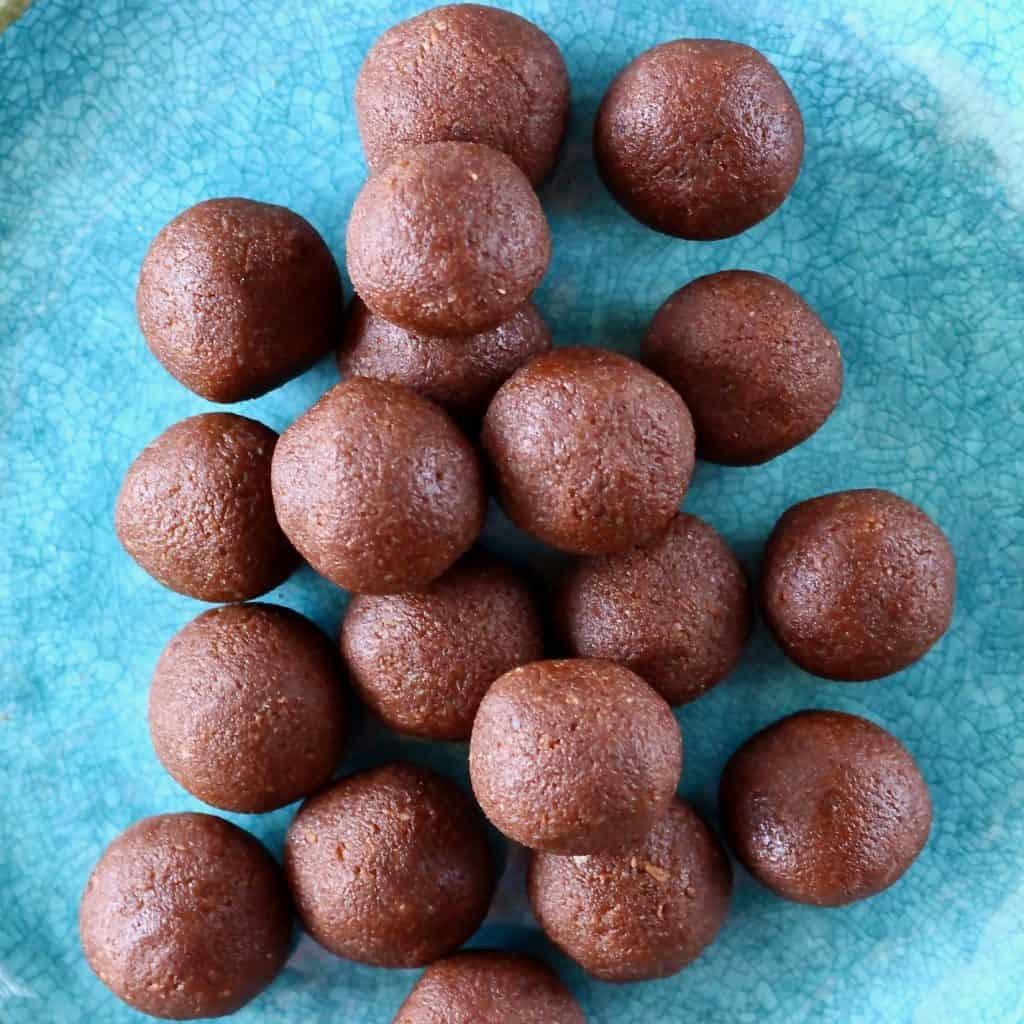 Vegan Protein Balls  Vegan Protein Balls Gluten Free