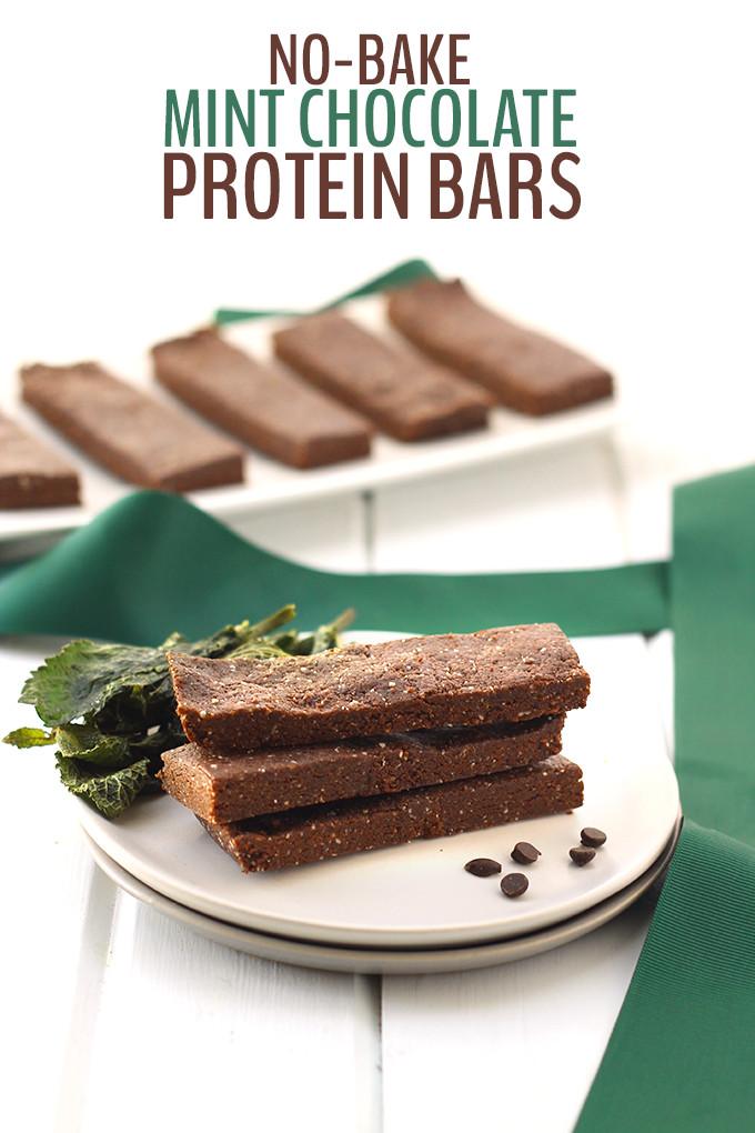 Vegan Protein Bars  12 No Bake Vegan Protein Bars