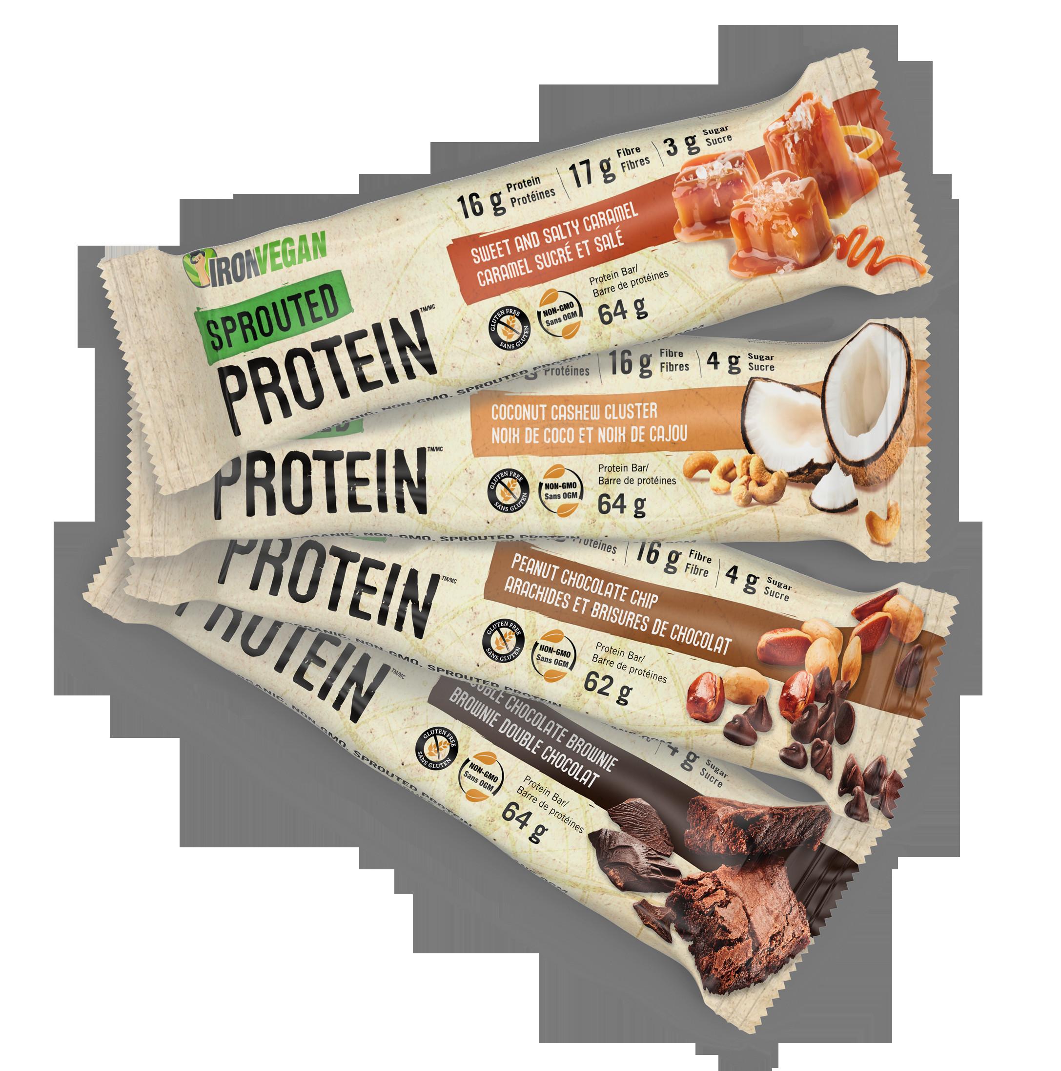 Vegan Protein Bars  Iron Vegan Protein Bars – Body Energy Club