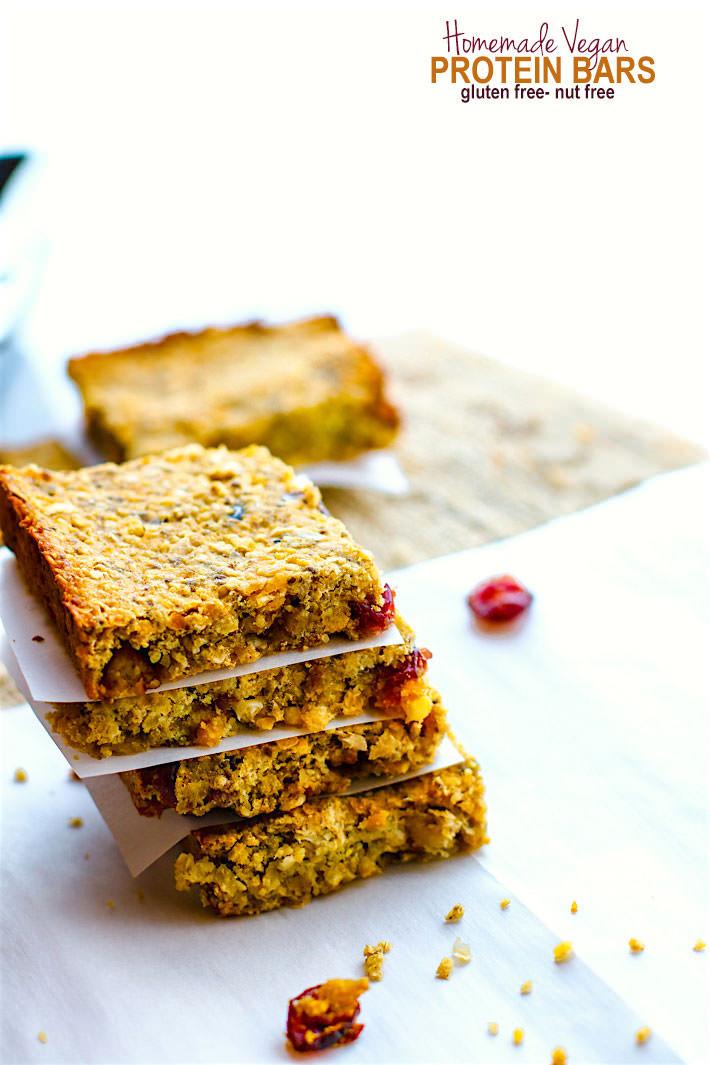 Vegan Protein Bars  How to Make Homemade Vegan Protein Bars Gluten Free