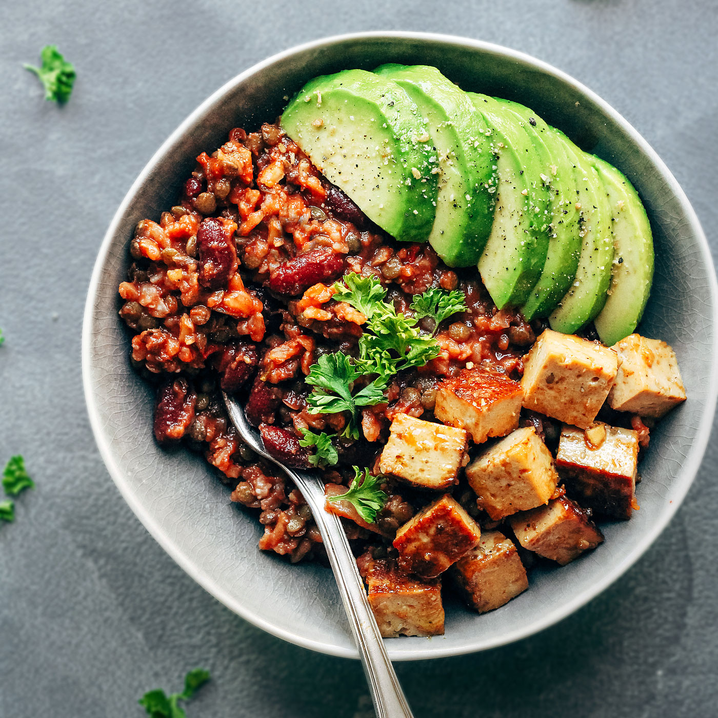 Vegan Protein Bowl Recipes  Enchilada Power Bowls with Spicy Tofu Full of Plants