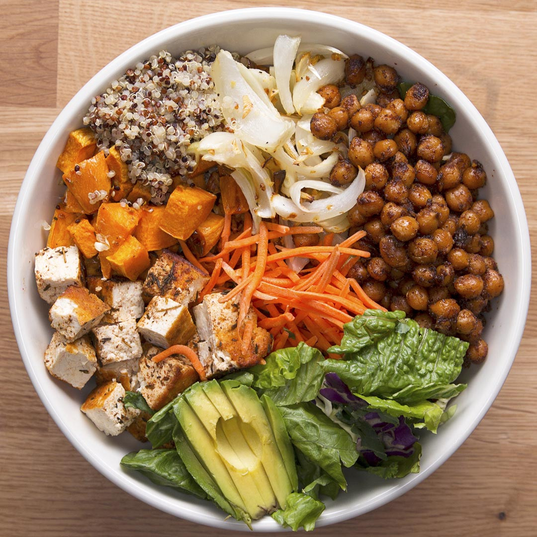 Vegan Protein Bowl Recipes  Protein Packed Buddha Bowl Recipe by Tasty