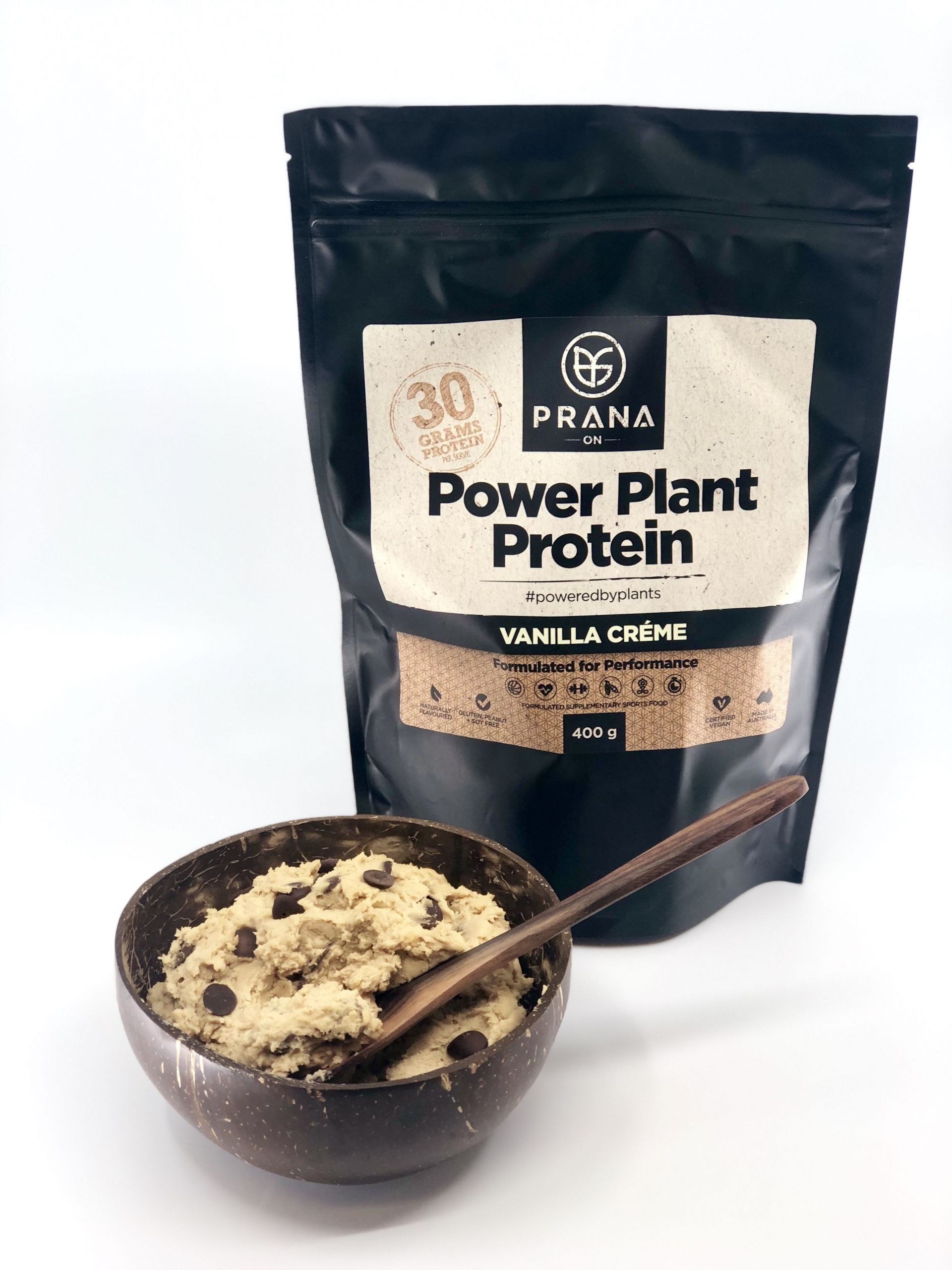 Vegan Protein Cookie Dough  Power Plant Protein