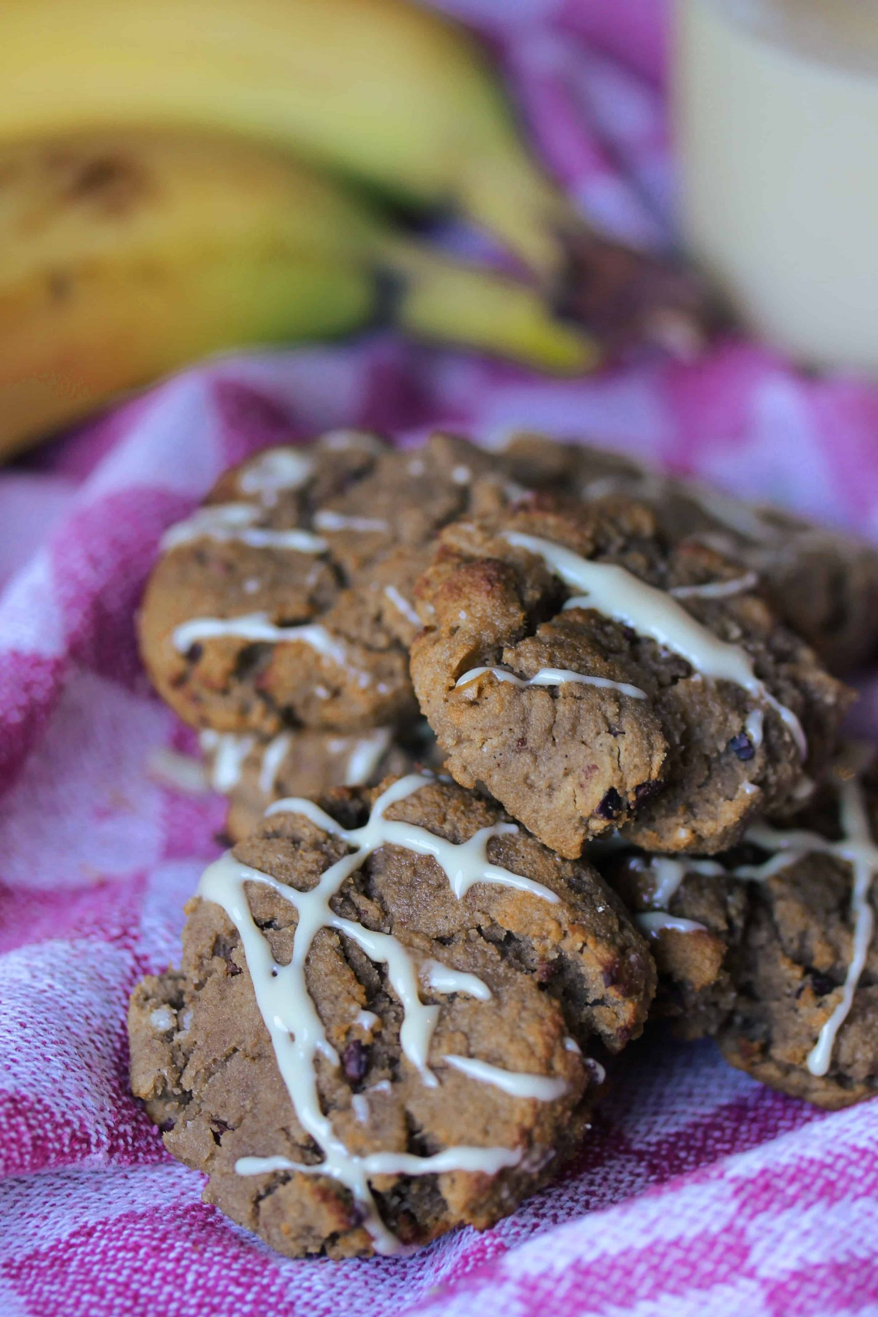 Vegan Protein Cookies  Vegan Protein Cookies with Cacao Nibs and Peanut