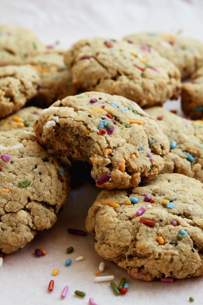 Vegan Protein Cookies  Chai Spiced Vegan Protein Cookies paleo sugar cookies