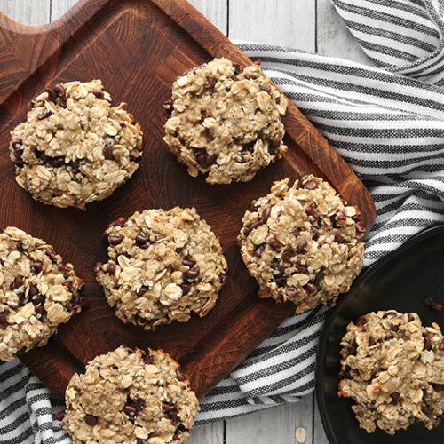 Vegan Protein Cookies  Easy Vegan Protein Cookies