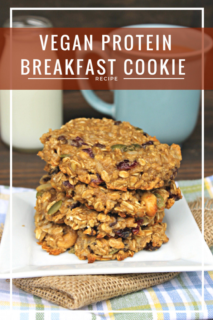 Vegan Protein Cookies  Vegan Protein Breakfast Cookie Recipe