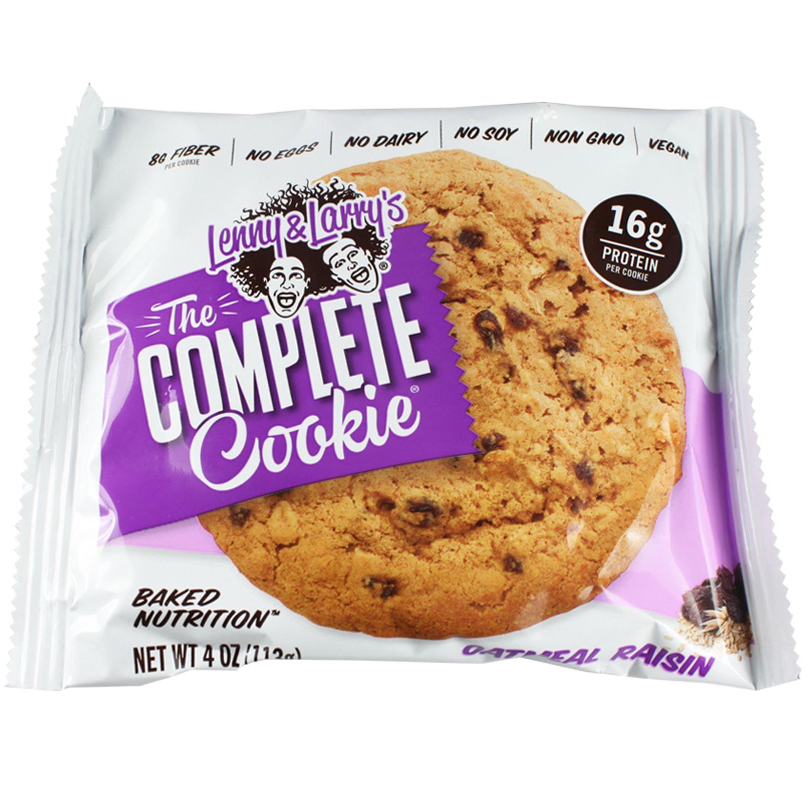 Vegan Protein Cookies  Lenny & Larry Box 12 x plete Cookie Vegan Protein