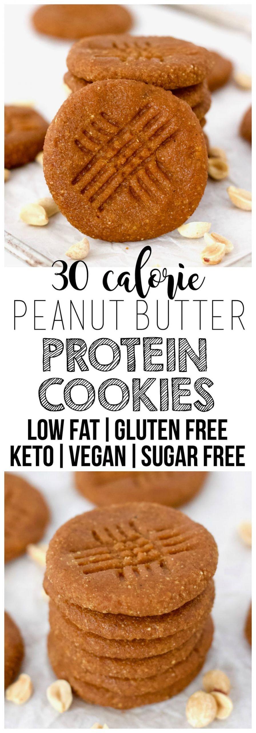 Vegan Protein Cookies  Keto Vegan Peanut Butter Protein Cookies Gluten Free