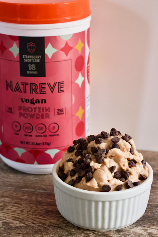 Vegan Protein Ice Cream  3 Ingre nt Vegan Protein Ice Cream with Hidden Veggies