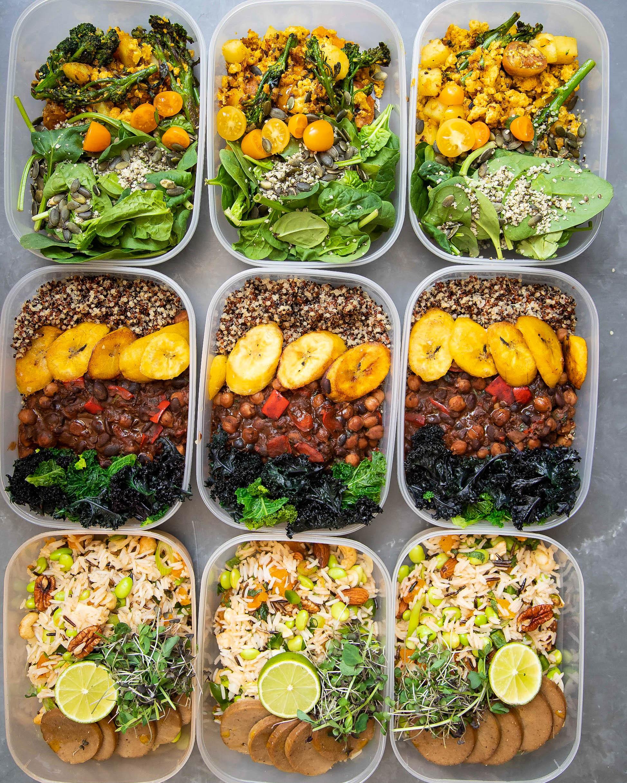 Vegan Protein Lunch Ideas  VEGAN HIGH PROTEIN MEAL PREP Avant Garde Vegan