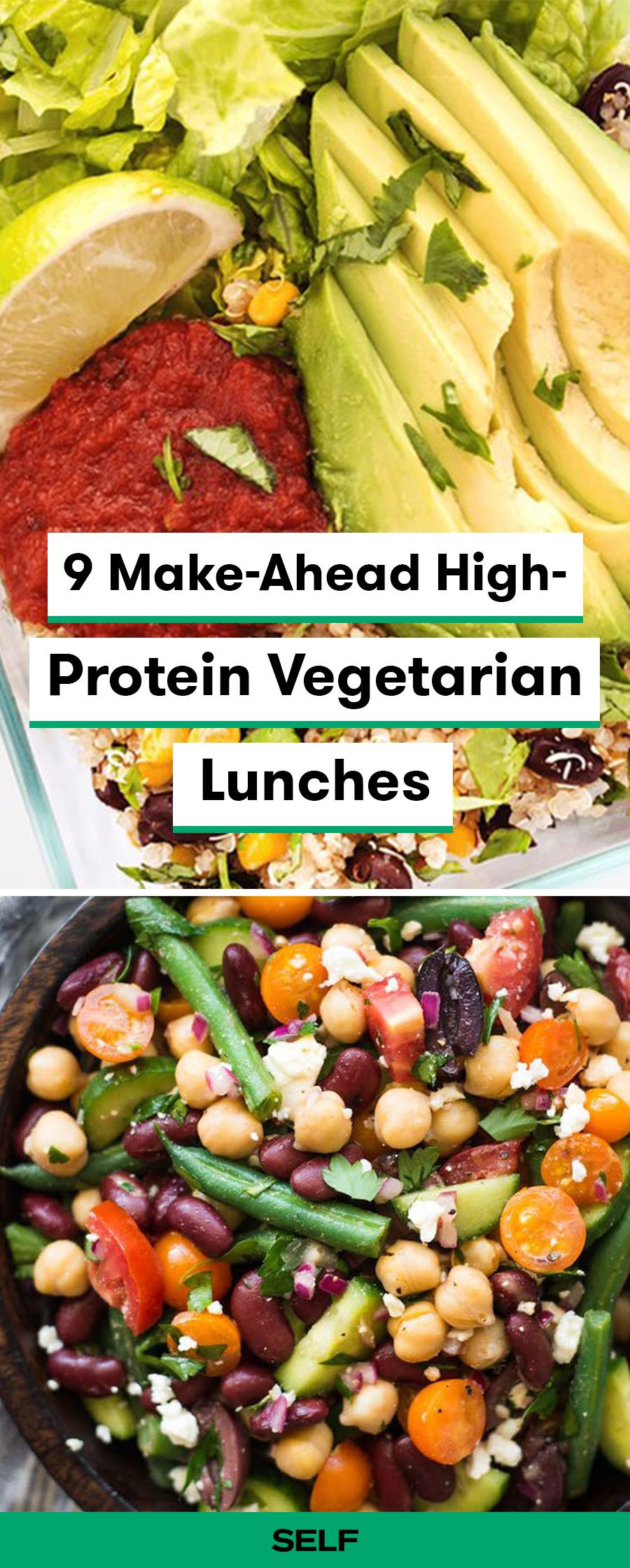 Vegan Protein Lunch Ideas  9 Make Ahead High Protein Ve arian Lunches