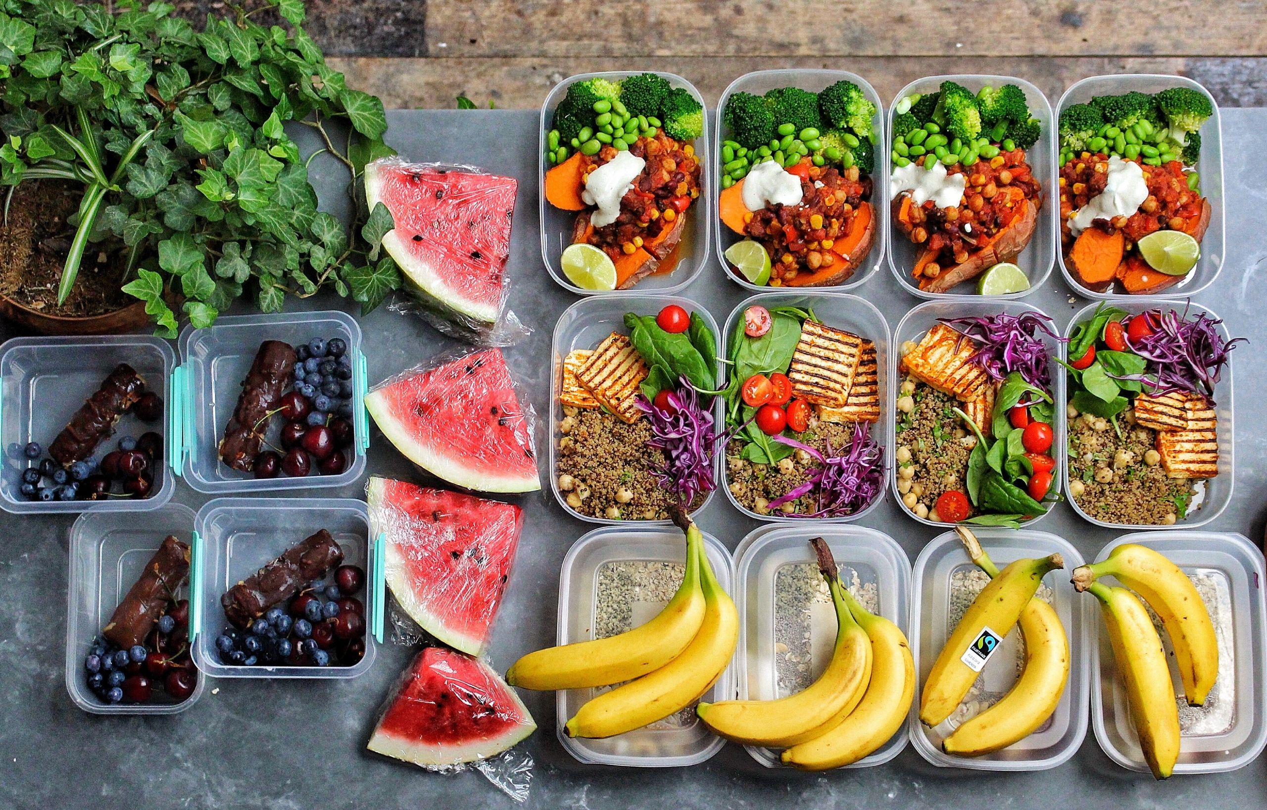 Vegan Protein Lunch Ideas  High Protein Vegan Meal Prep Avant Garde Vegan
