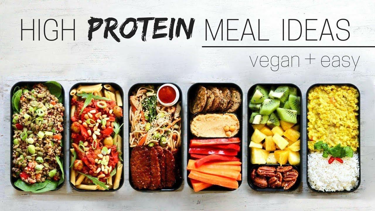 Vegan Protein Lunch Ideas  HIGH PROTEIN VEGAN MEAL IDEAS bento box