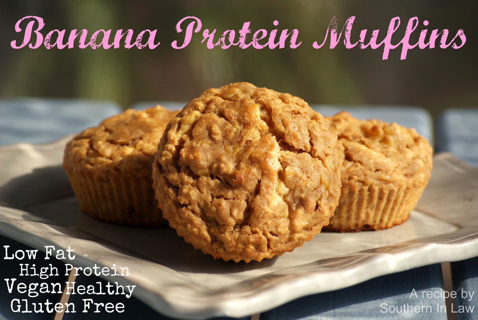 Vegan Protein Muffins Healthy  Southern In Law Recipe Banana Protein Muffins