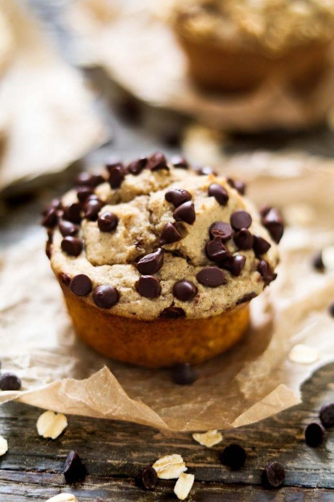 Vegan Protein Muffins Healthy  Easy Vegan Protein Muffins GF Oil Free Vegan Huggs