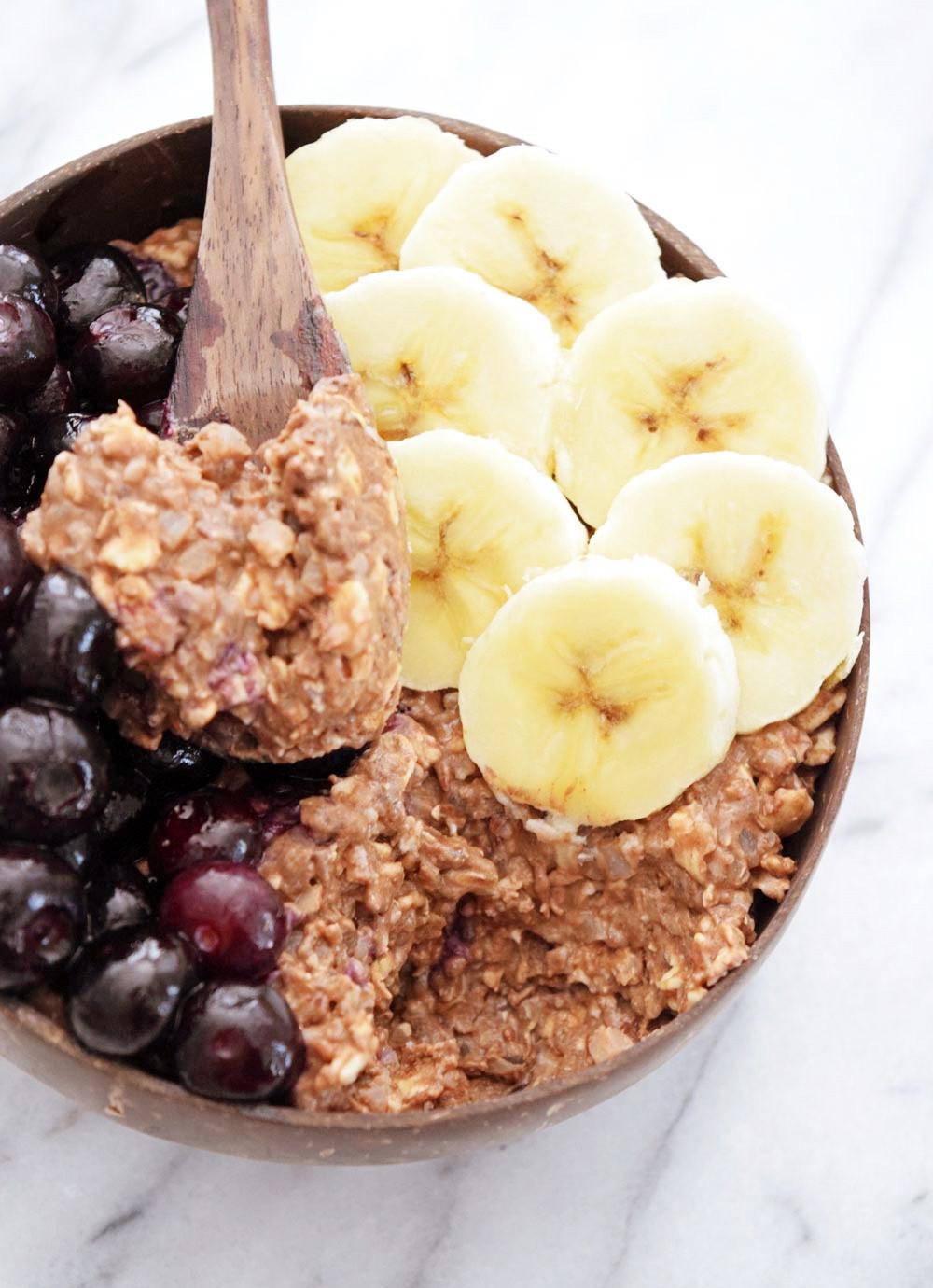 Vegan Protein Overnight Oats  Vegan Chocolate Cauliflower Protein Overnight Oats Sweet