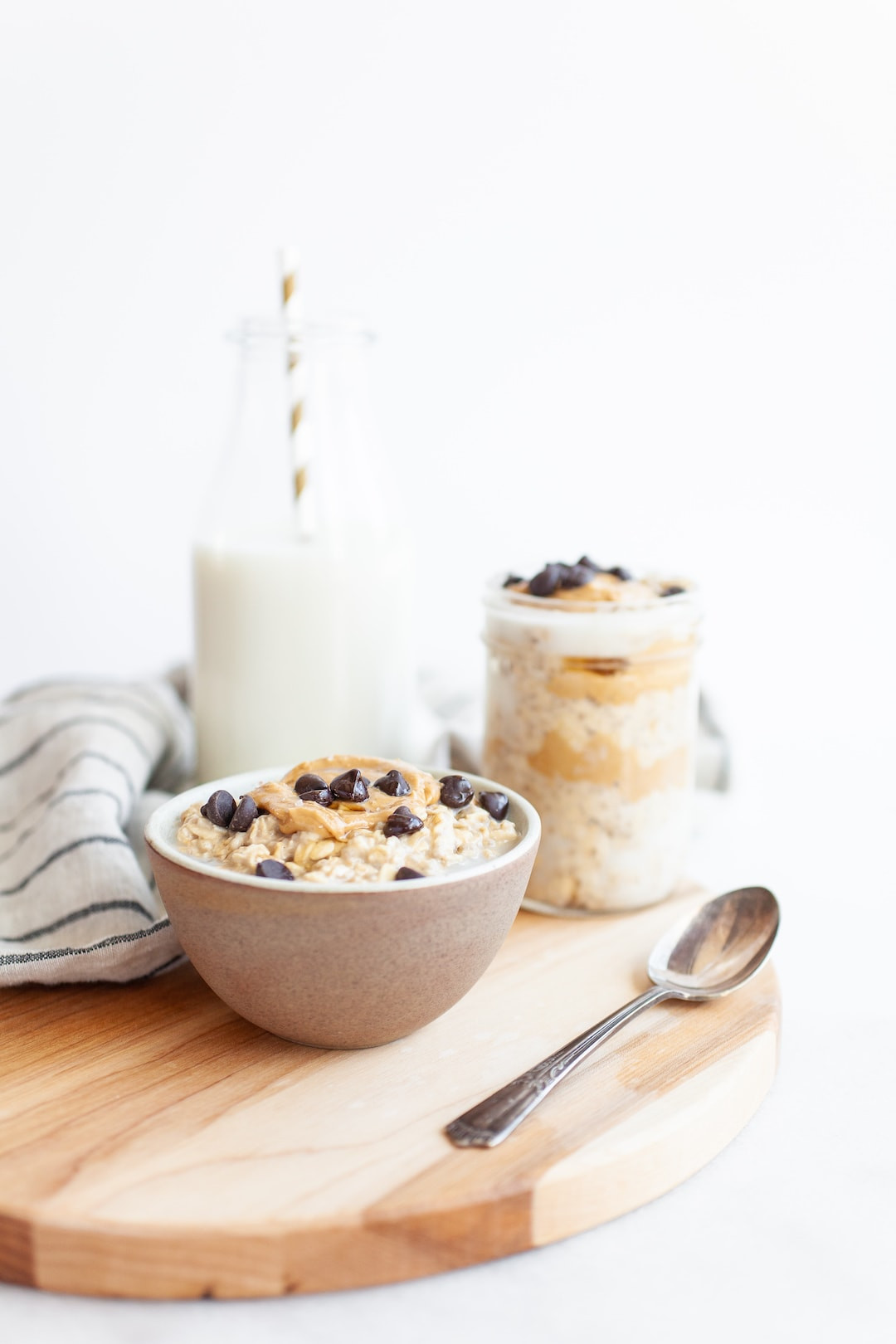 Vegan Protein Overnight Oats  Vegan Protein Packed Cookie Dough Overnight Oats