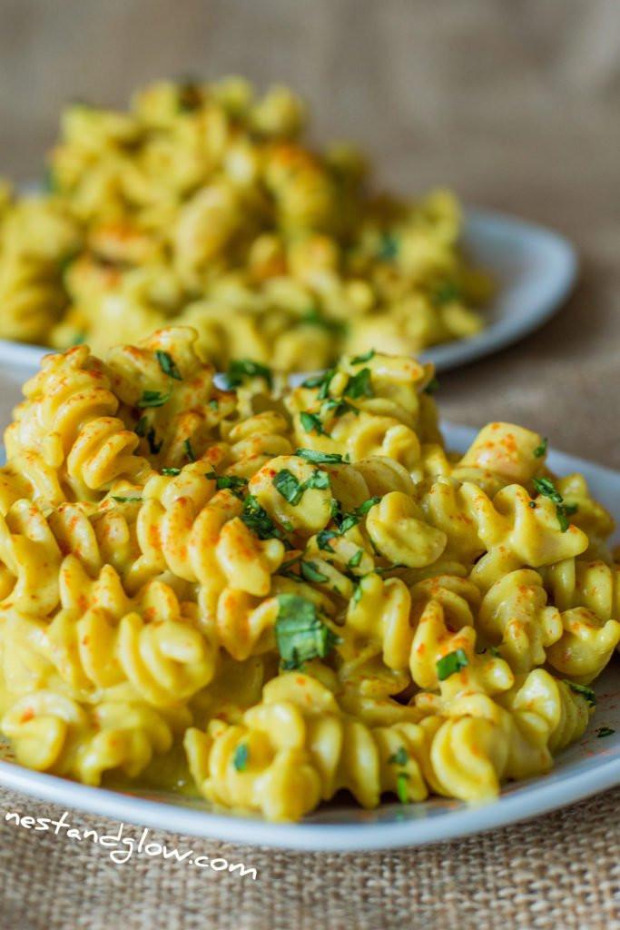 Vegan Protein Pasta  Cheesy Protein Pasta Vegan and Gluten Free Recipe