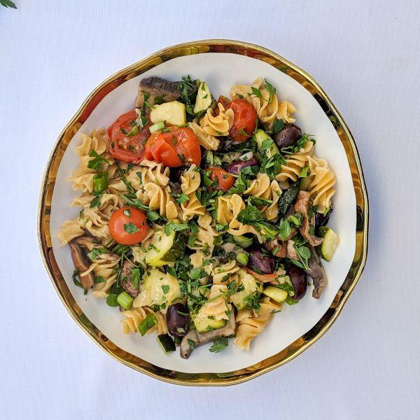 Vegan Protein Pasta  Vegan High Protein Veggie Pasta Recipe