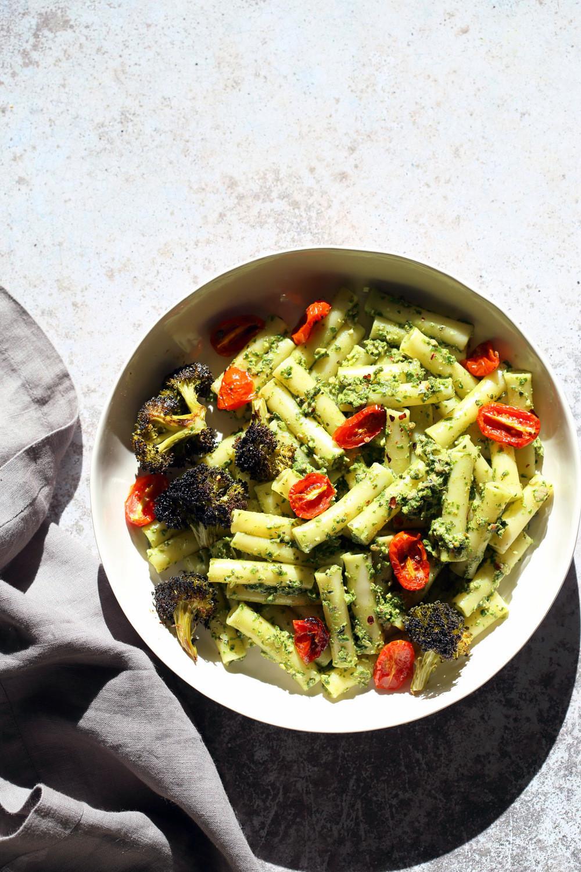 Vegan Protein Pasta  Vegan Pesto Pasta with Charred Broccoli Vegan Richa
