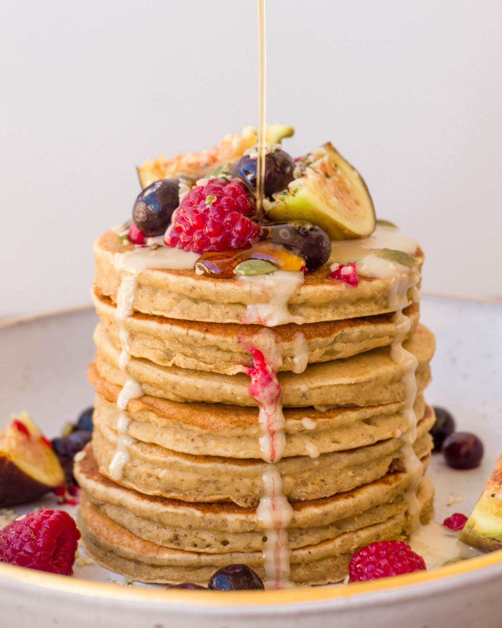 Vegan Protein Powder Pancakes  Vegan Protein Pancakes The Tasty K