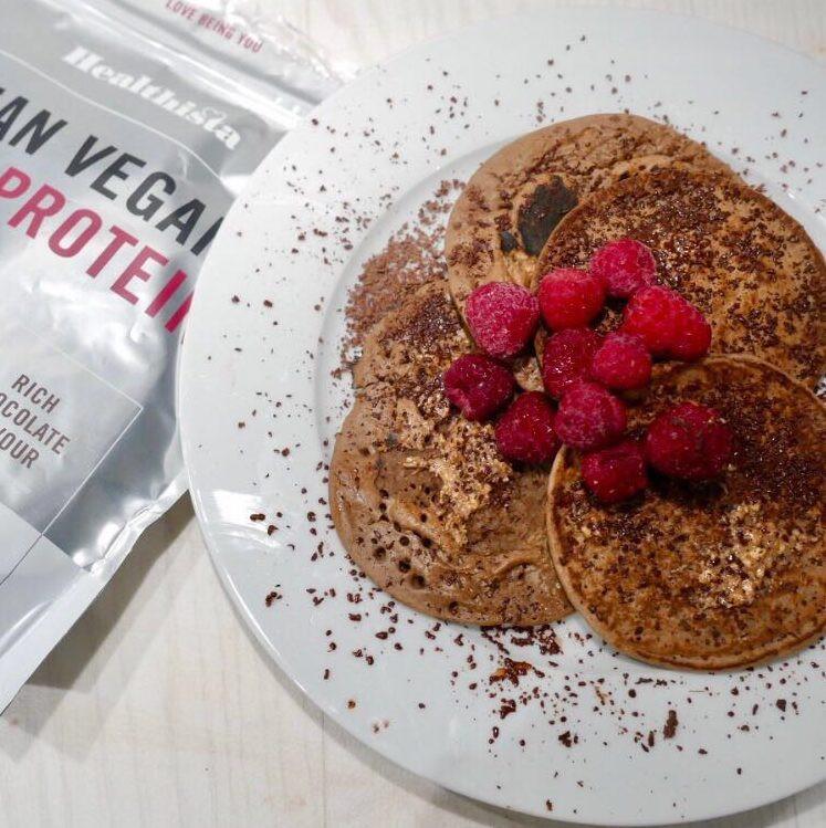 Vegan Protein Powder Pancakes  Vegan protein pancakes PLUS 8 other protein powder recipes