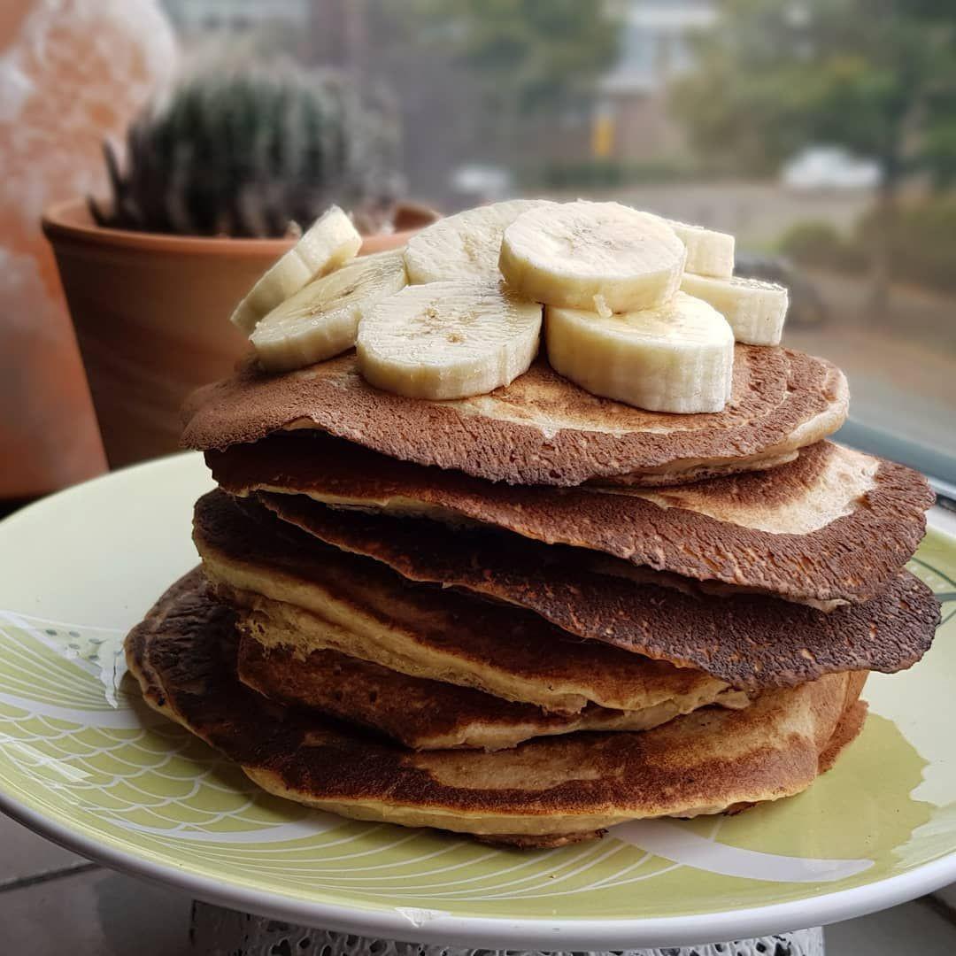 Vegan Protein Powder Pancakes  Easy Vegan Protein Pancakes Serves 2 1 cup all