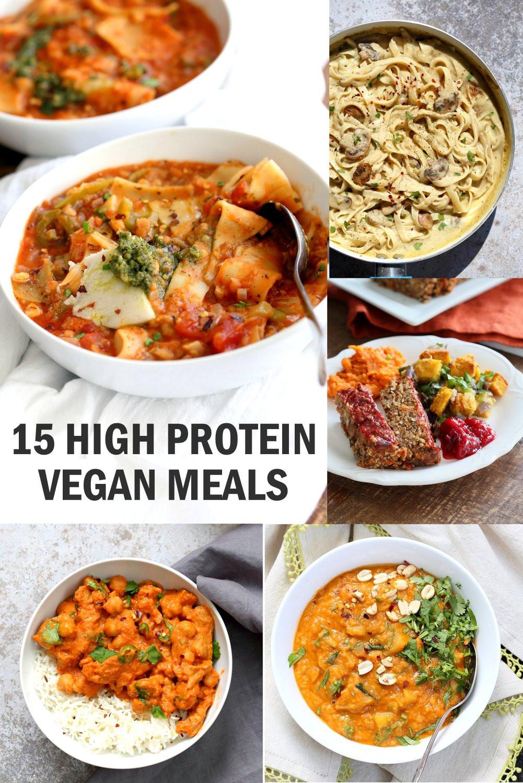 Vegan Protein Recipes  15 High Protein Vegan Meals Vegan Richa