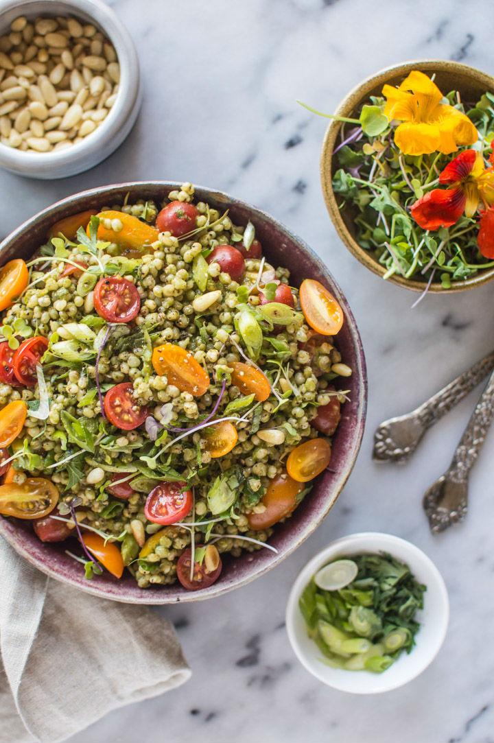 Vegan Protein Recipes  50 Vegan High Protein Salads
