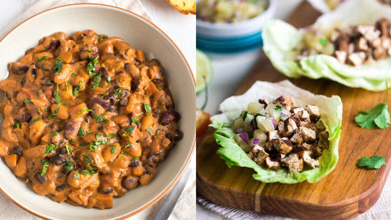 Vegan Protein Recipes Low Carb  Try These 4 High Protein Low Carb Ve arian Meals in the