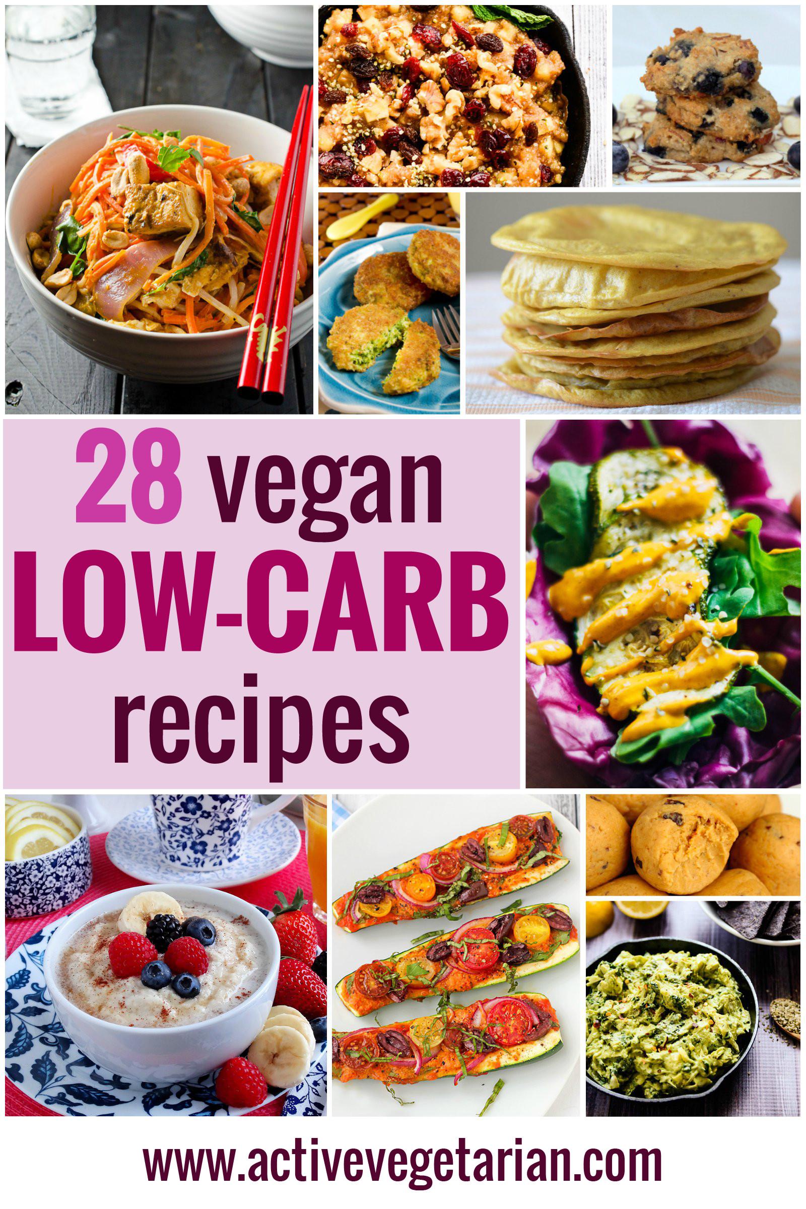 Vegan Protein Recipes Low Carb  Recipe Round Up 28 Low Carb Vegan Recipes Active
