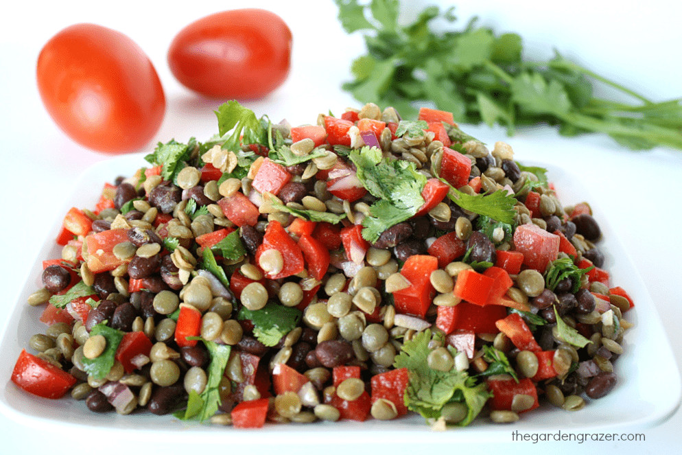 Vegan Protein Salad  18 Ve arian and Vegan High Protein Salads
