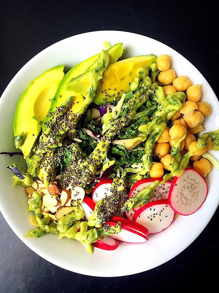 Vegan Protein Salad  Vegan GF Crunchy Protein Packed Summer Salad Whisk