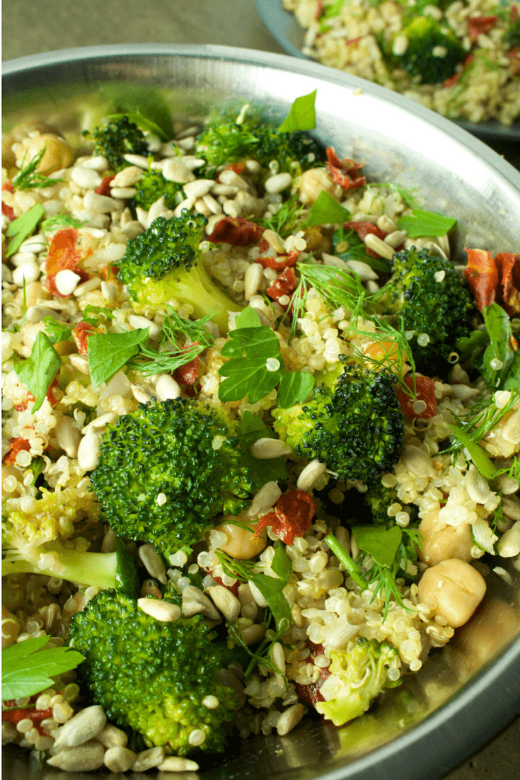 Vegan Protein Salad  High Protein Vegan Salad That Will Keep You Energized
