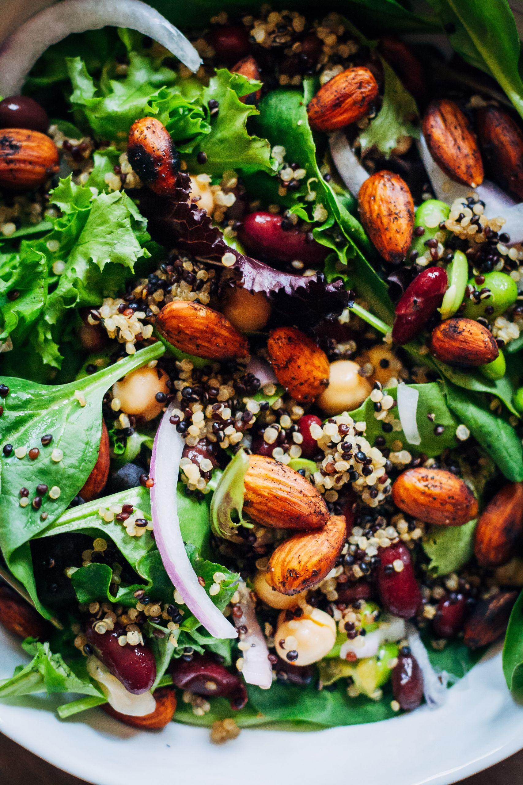 Vegan Protein Salad  Power Protein Salad