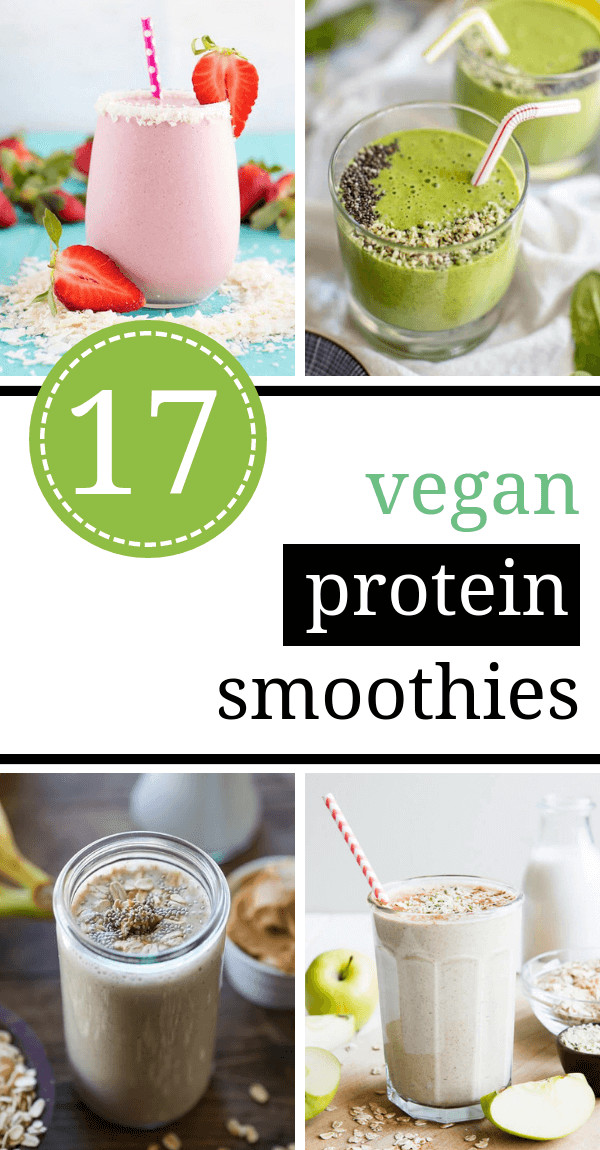 Vegan Protein Smoothie  17 Tasty Vegan Protein Smoothie Recipes for Weight Loss
