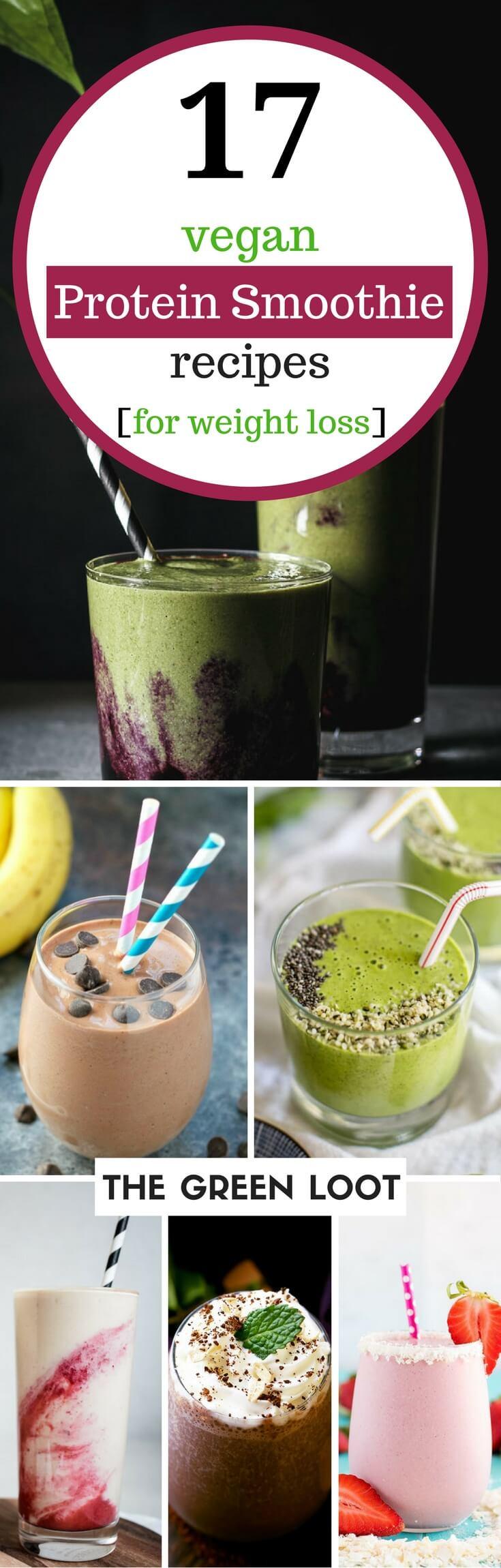 Vegan Protein Smoothie Without Powder  17 Tasty Vegan Protein Smoothie Recipes for Weight Loss