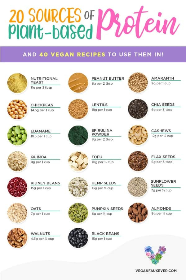 Vegan Protein Sources Plant Based  20 Vegan Protein Sources and How to Incorporate Them Into