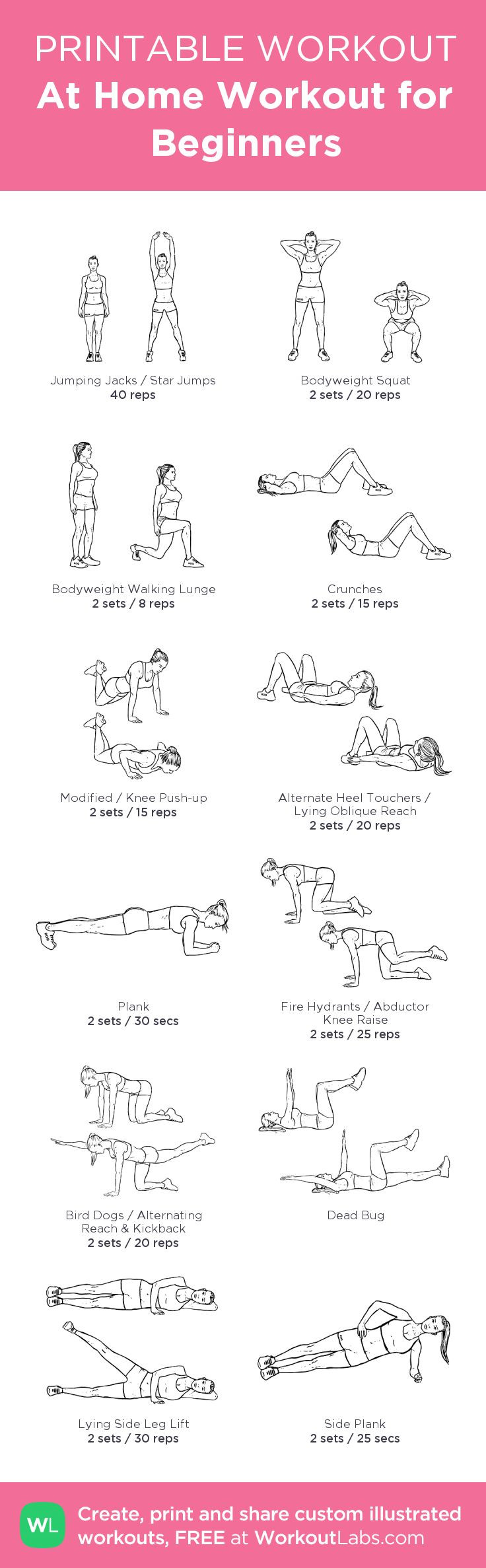 Weight Loss Exercises At Home For Women  2159 best Home Workouts and Exercises images on Pinterest