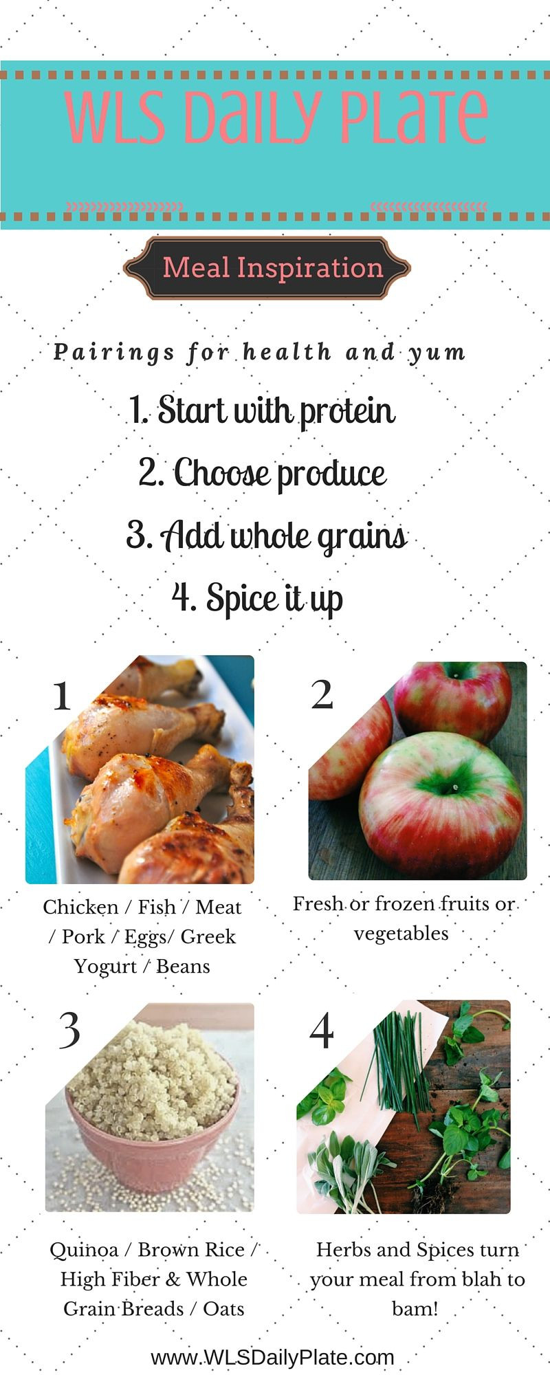 Weight Loss Surgery Meal Plan  Pin on Healthy Living